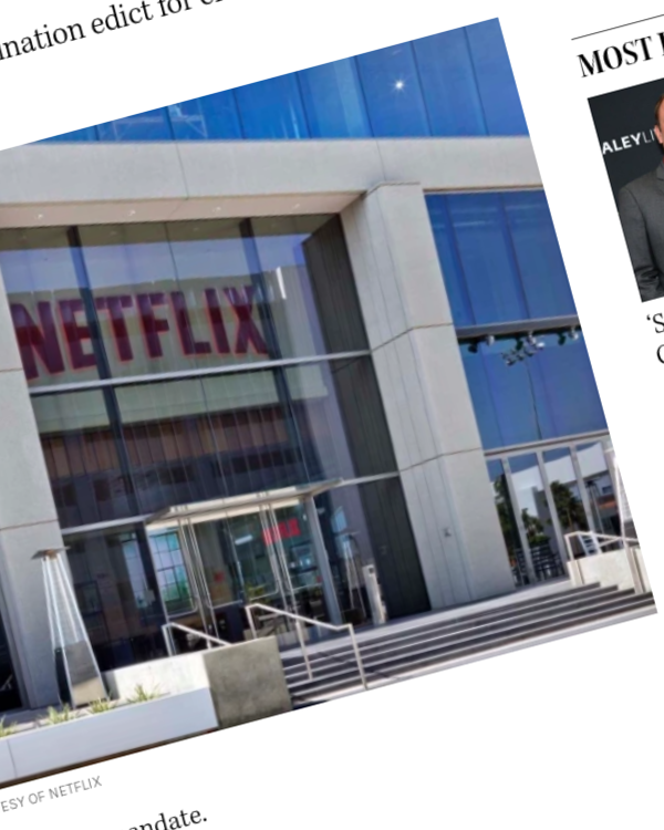 Fairness Rocks News Netflix to Require Vaccinations for Office Workers