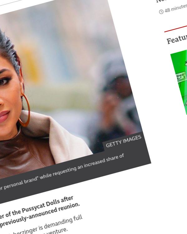 Fairness Rocks News Nicole Scherzinger sued by Pussycat Dolls founder Robin Antin