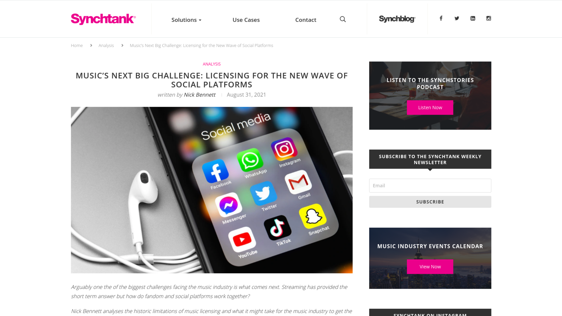 Fairness Rocks News Music's Next Big Challenge: Licensing for the New Wave of Social Platforms