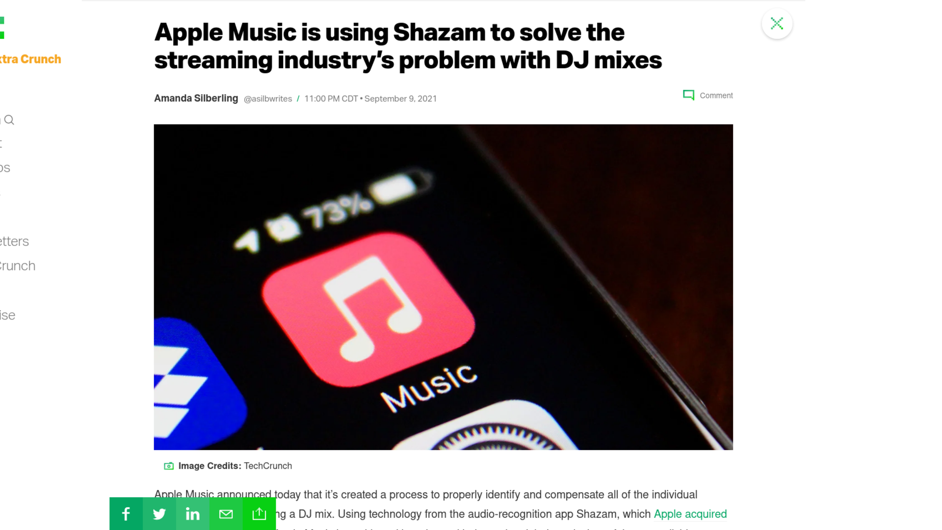 Fairness Rocks News Apple Music is using Shazam to solve the streaming industry's problem with DJ mixes