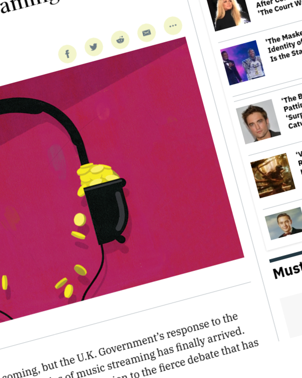 Fairness Rocks News U.K. Government Calls for Further Research Into Music Streaming Sector; Keeps Options Open
