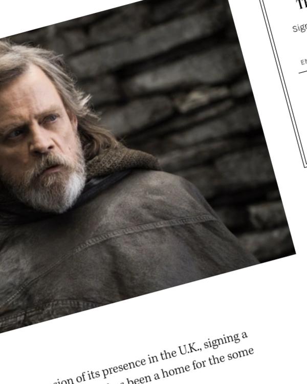 Fairness Rocks News Netflix Expands U.K. Presence With Lease at U.K.'s Longcross Studios, Home to 'Star Wars,' Bond