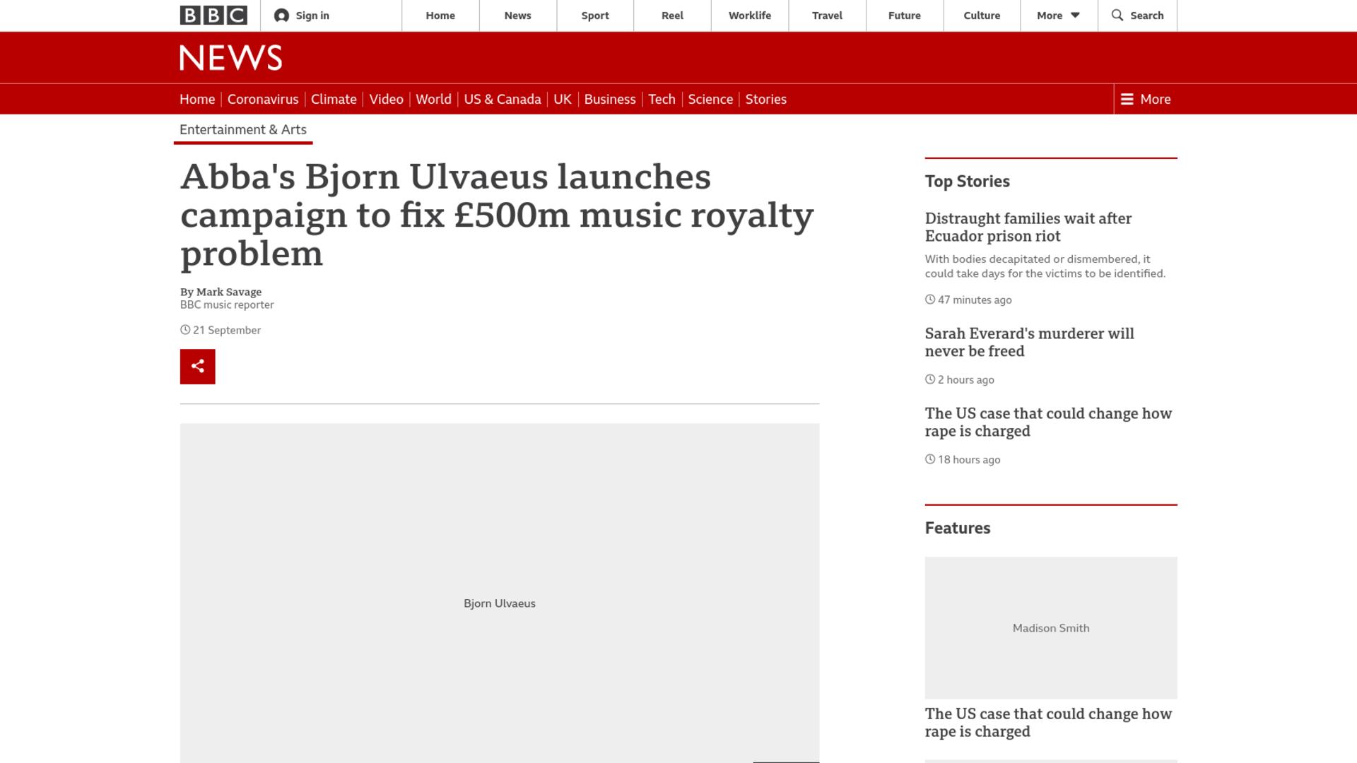 Fairness Rocks News Abba's Bjorn Ulvaeus launches campaign to fix £500m music royalty problem