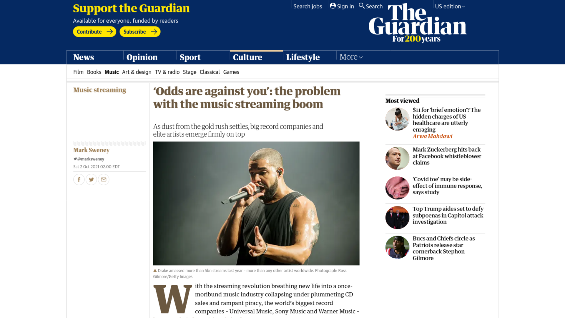 Fairness Rocks News 'Odds are against you': the problem with the music streaming boom