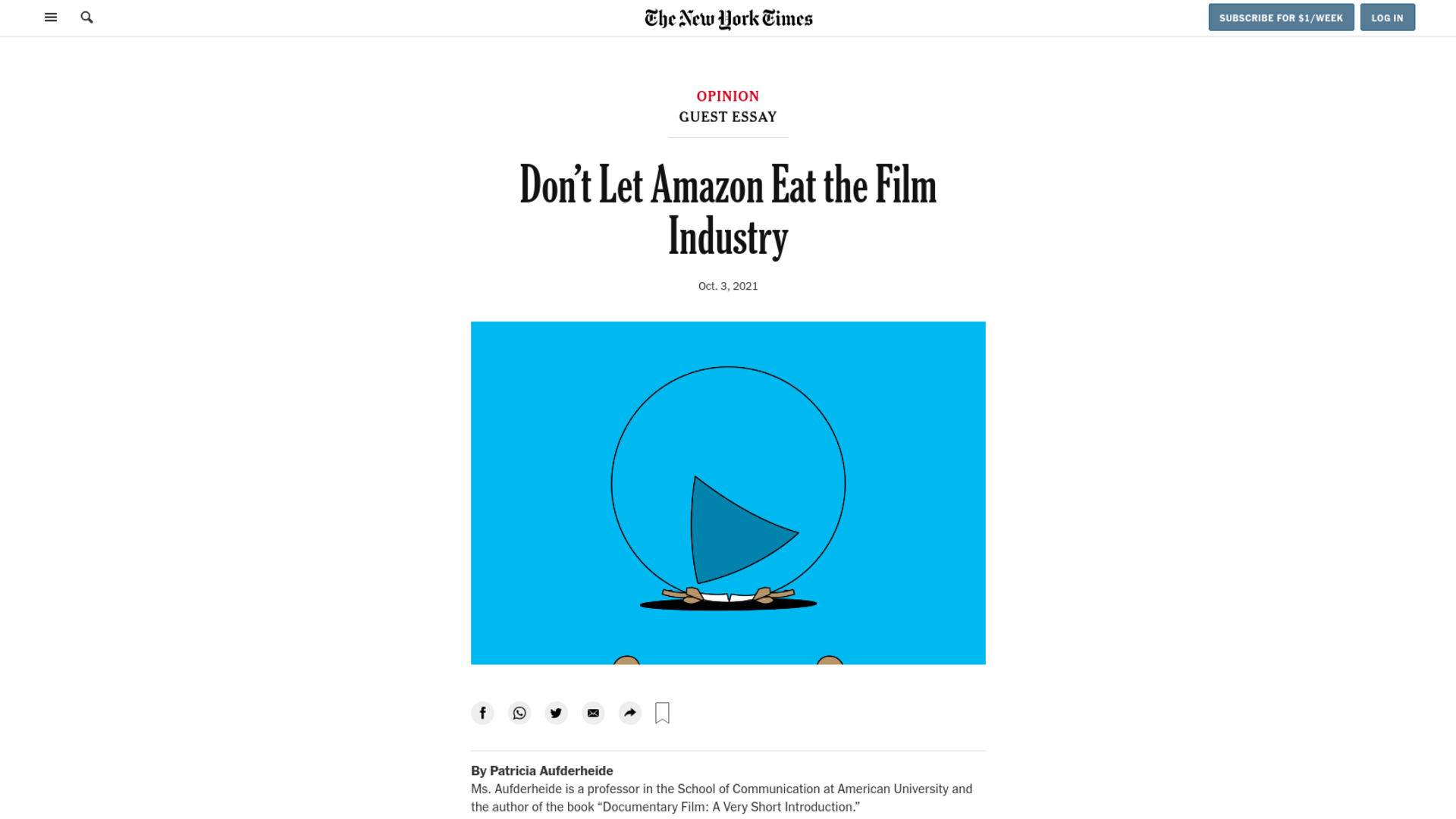 Fairness Rocks News Don't Let Amazon Eat the Film Industry