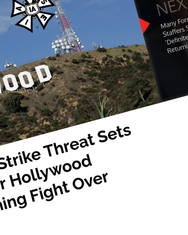 Fairness Rocks News How IATSE's Strike Threat Sets the Stage for Hollywood Guilds' Coming Fight Over Streaming